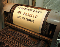 Playing with Type - Letterpress Workshop