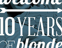 10 Years of Blonde | Posters