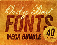 Only Best Fonts – Mega Bundle!