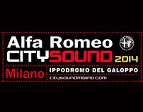 CITY SOUND Alfa Romeo Logo / F. Paciola - M. Gerace