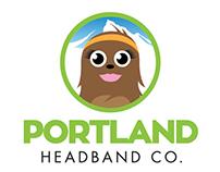 Logo design for Portland Headband Co.