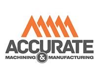 Corporate identity for Accurate Machine & Manufacturing