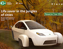 Elio Motors (website concept presentation)