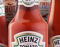 Heinz Products Shoot
