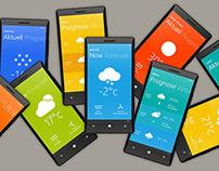 Color Weather App