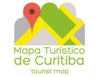 Identidade Visual - Mapa Turístico de Curitiba