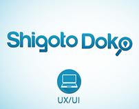 UX/UI Design: SHIGOTO DOKO