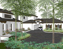 estate + guest home . florida