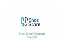 Shoe Shop Webpage Template