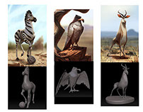 Production design for Khumba