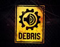 Debris - Music community visual identity