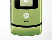 Motolola RAZR (Korea) Color Plan