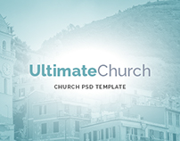 Ultimate Church PSD Template
