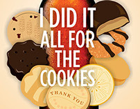 I DID IT FOR THE COOKIES