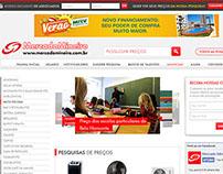Novo layout website Mercado Mineiro