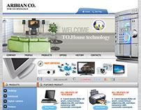Arabian Co. Web site 2009