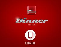 UX/UI Design: DINNER HELPER