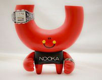 Abe Lincoln Jr. x Nooka Custom Toy and Watch set
