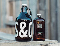 Steel & Oak Beer: Designed by Also Known As