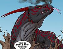 Kweku Tsin and the Black Dragon (selected pages)