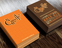 Identity for Cañitas Restaurant