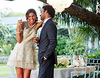 Belk, Inc. Wedding campaign -Styling by Monica Olman