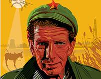 Art Bergman Drone of democracy poster
