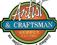 Artist and Craftsman Supply Facebook Graphic Design