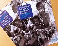 Roll Back Malaria brochure