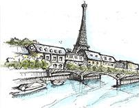 Europe Sketch book