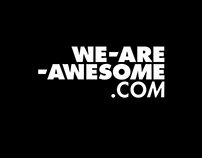 We-Are-Awesome brand developement