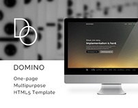 Domino - Multipurpose One Page HTML5 Template