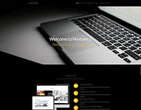 Nextone   Responsive OnePage Template - Dark Style