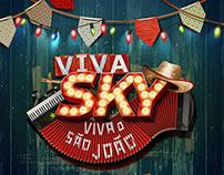 SKY // Campanha Viva Sky