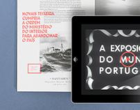 """Interactive printing Book """"O Vimaranense Errante"""""""