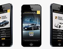Lux Car Web site design