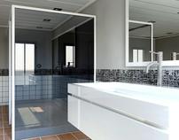 3D Architectural Visualisation - Bathroom Design