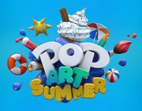 Pop Art Summer Idents 2014