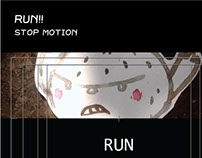 RUN!! (Stop motion)