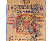 Lacrosse U.S.A. Iroquois Chino Hangtag