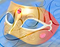 Venetian carnival masks (2014)