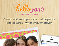 Hello You App for Hallmark Australia