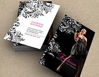 Charisma Visual Branding for Fashion Boutique