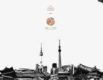 Seoul/Tokyo Décalcomanie