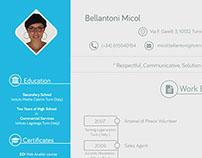 Professional,clean & modern Resume/CV design