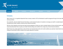 Altaïr Finance SA