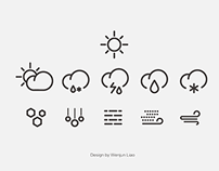 WIP - Weather Icon Design