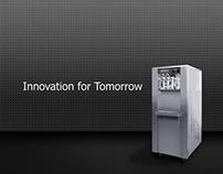Soft Serve Machine Manufactory Branding