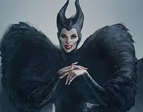 Maleficent in Alexander McQueen