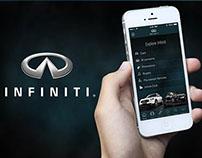 INFINITI IOS app